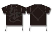梵字呼びTee-Black-【BIG-Tシャツ】
