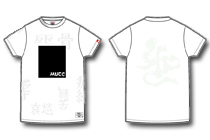 MUCC×-PANK-DRUNKERS-反区×無苦-蓄光スペシャルT。-White